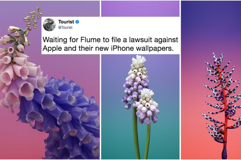Flume's Album Designer Is Fine With Apple's New 'Skin'-Esque iOS Wallpapers  - CraveOnline