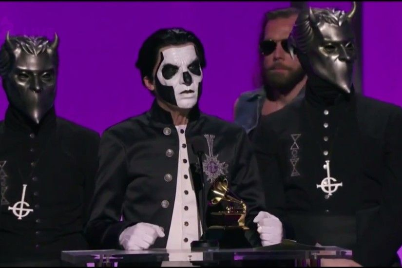 Ghost Wins Grammy For 'Best Metal Performance'