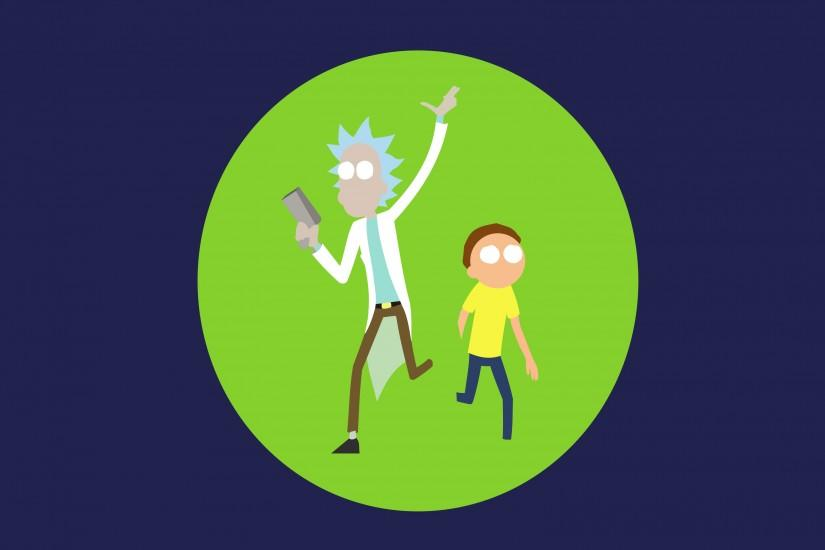 popular rick and morty wallpaper 3095x2105