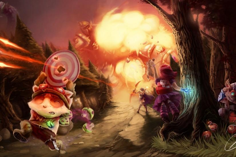 league of legends teemo wallpaper widescreen with high resolution wallpaper  on games category similar with 1920x1080