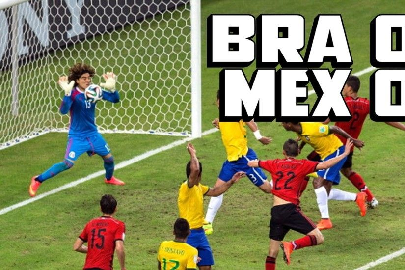 Ochoa's AMAZING Save Helps Mexico Draw Brazil [Mexico vs. Brazil Recap] -  YouTube