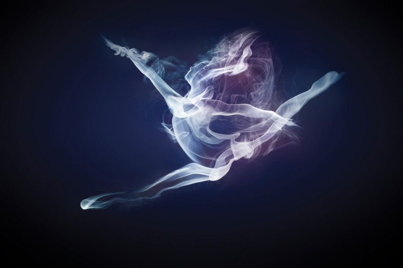 abstract smoke art image