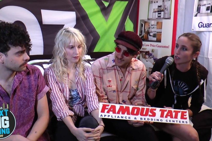 Famous Tate Next Big Bed With Paramore