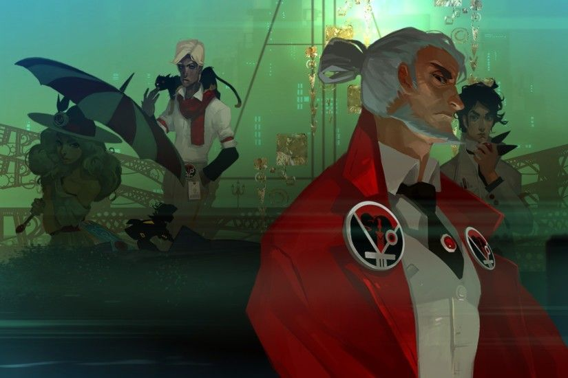 The Camerata (1920×1080) #Transistor Wallpaper | Transistor Wallpapers |  Pinterest | Wallpaper, Game art and Illustrations