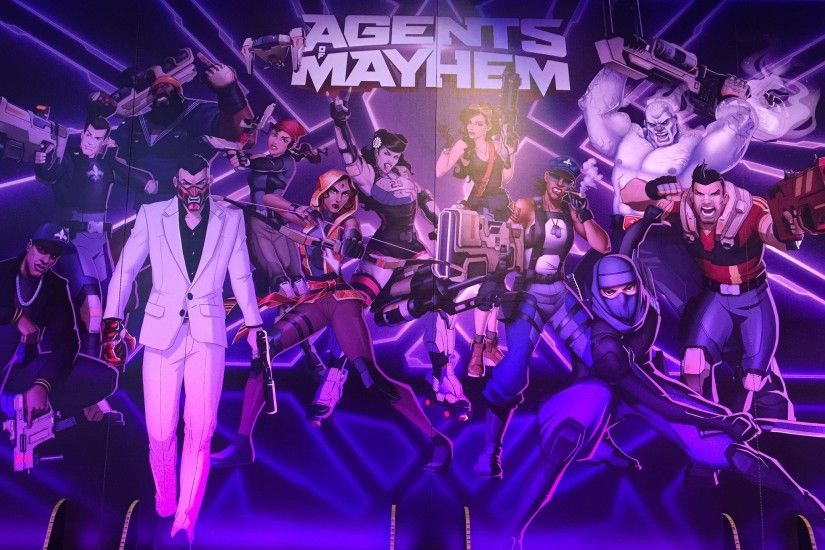 Agents of Mayhem HD Wallpapers Backgrounds Wallpaper 2048×1536