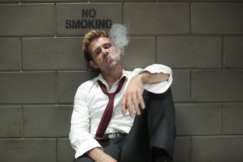 John Constantine Matt Ryan Wallpapers Constantine Lives...on The CW's Arrow  | The Mary ...