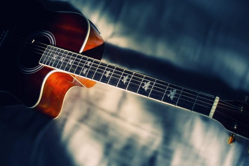 Acoustic Guitar Wallpaper - Wallpaper, High Definition, High Quality .