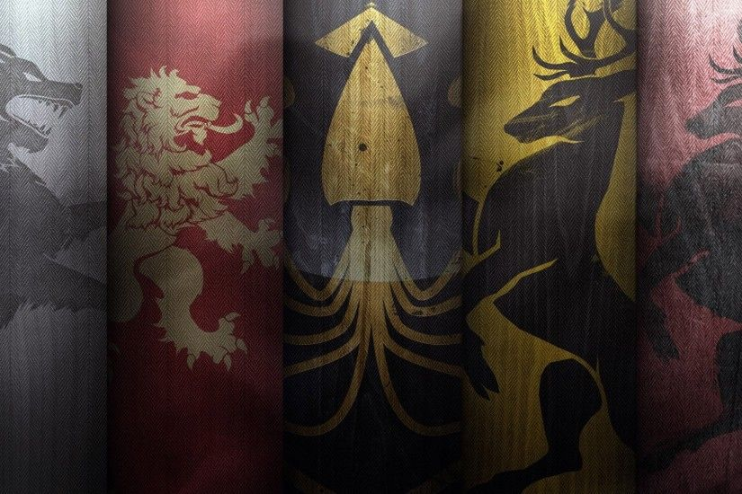 House Emblems - Game Of Thrones