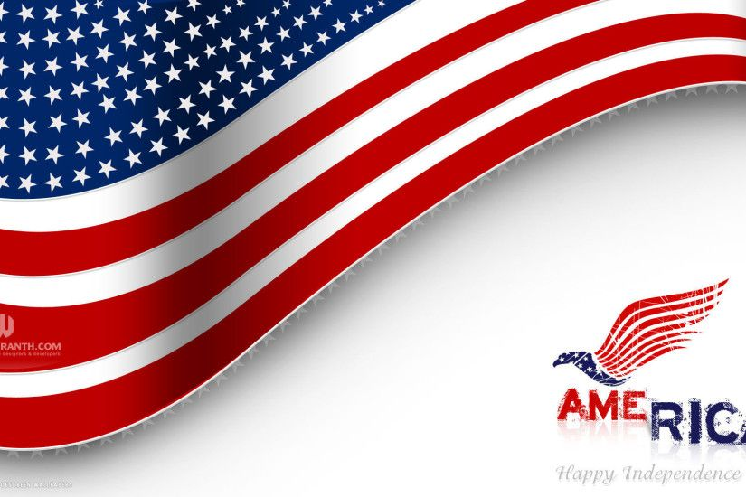 happy independence day 4th of july america flag vector holiday hd  widescreen wallpaper