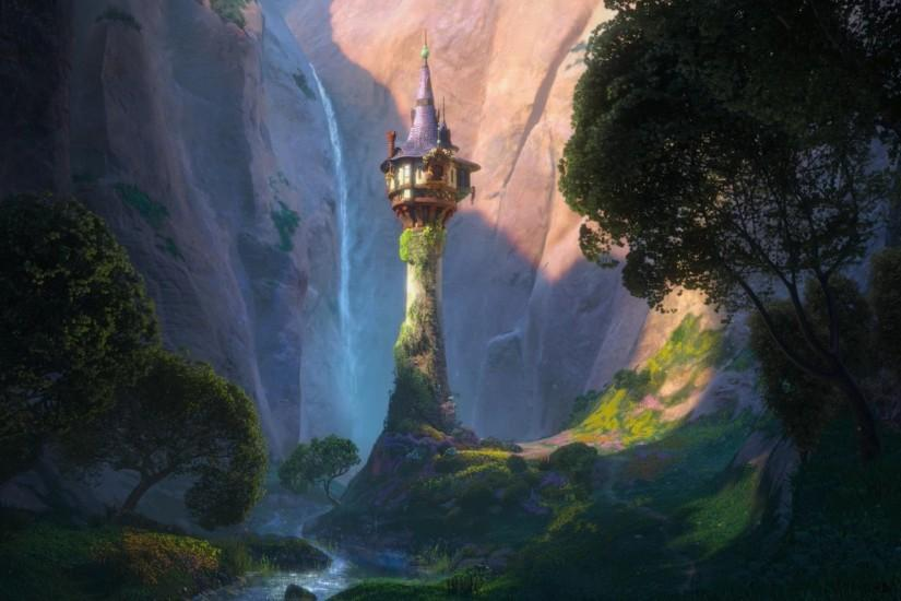 Rapunzel's Tower - Tangled Wallpaper