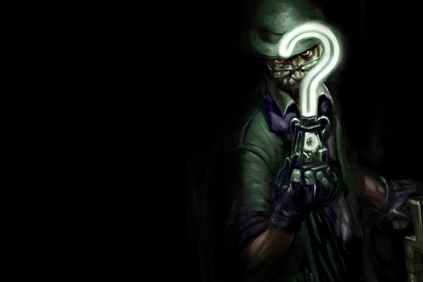 ... The Riddler wallpaper 1920x1080 ...