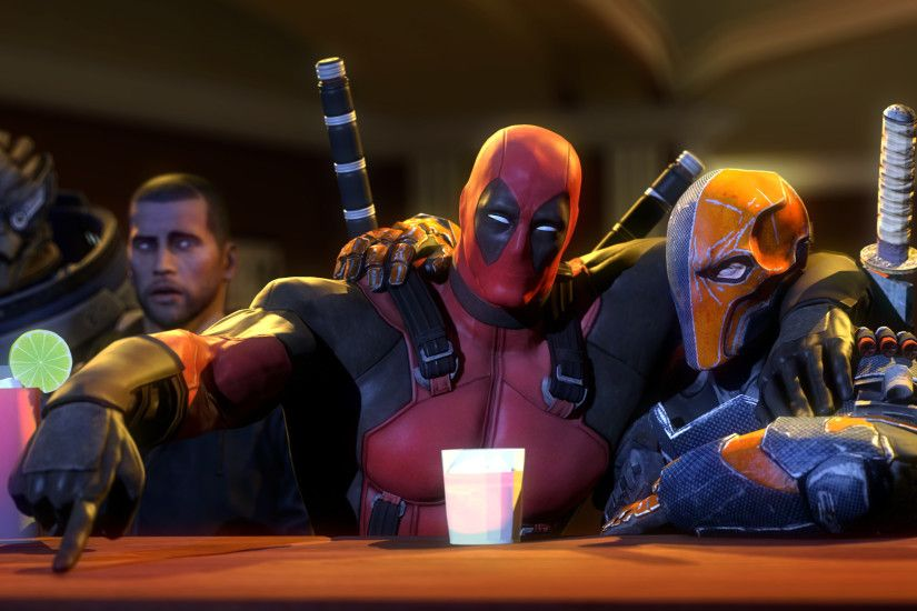 Deadpool with deadshot (click to view)