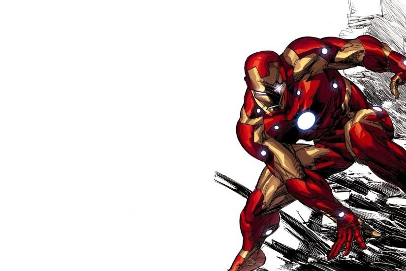 Iron Man comics Tony Stark.