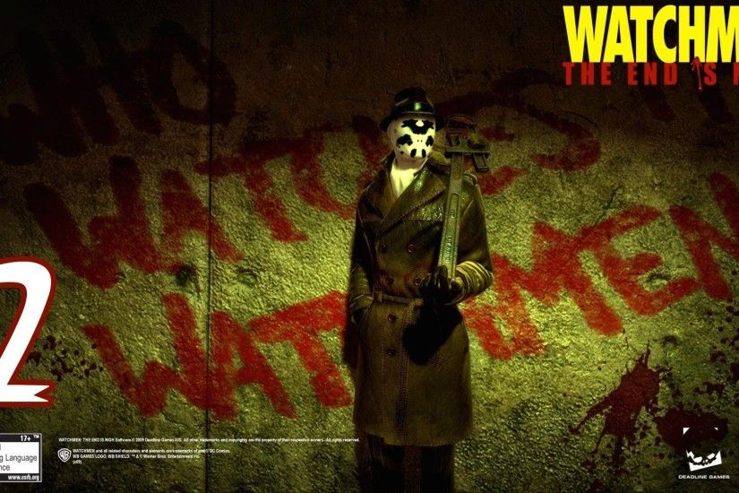 "Watchmen: The End Is Nigh Part 2 Walkthrough ""Chapters 3- 4"" 1080P 2 -  YouTube"