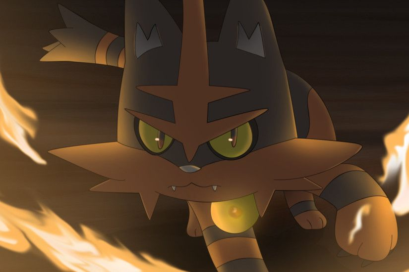 Video Game - Pokémon Sun and Moon Torracat (Pokémon) Pokémon Wallpaper