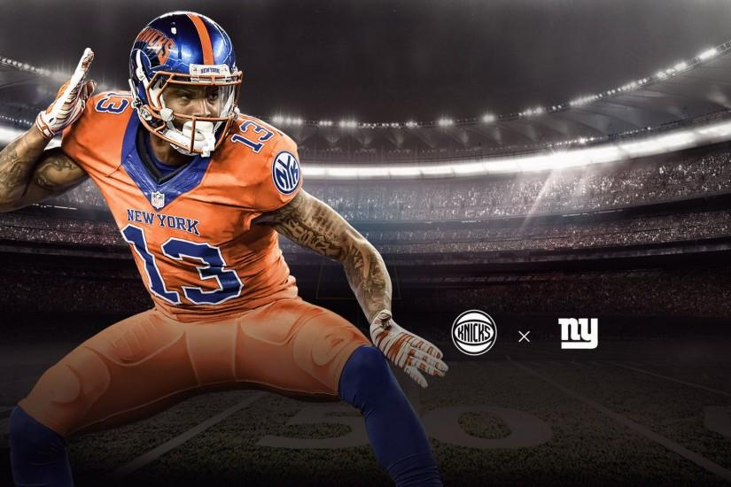 Sick Odell Beckham Jr Knicks Mash-up ...