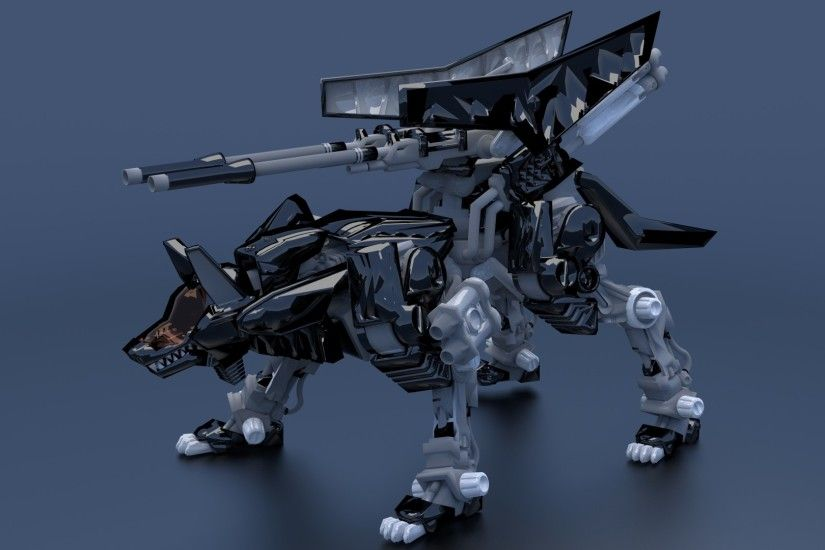 Zoids Command Wolf by JeFF3Dee Zoids Command Wolf by JeFF3Dee