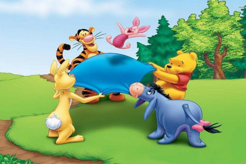 1920x1200 Disney Easter Piglet and Winnie the Pooh Wallpaper PuzzlesGames  1920×1200