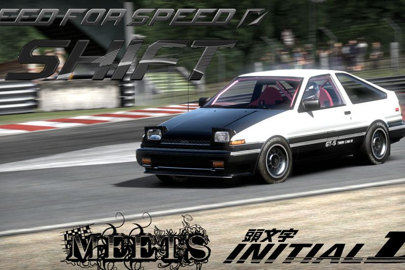... NFS:Shift meets Initial D by nekosilvertail