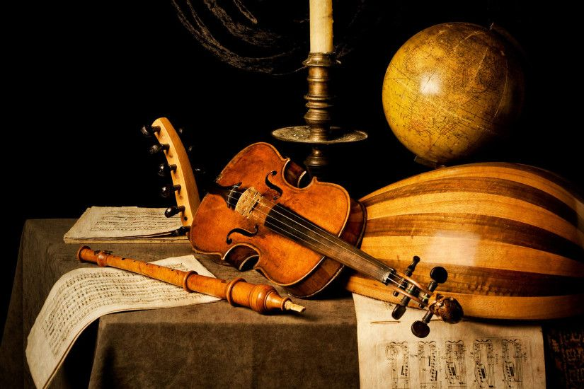 Old Musical Instruments wallpapers