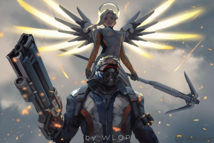 download mercy overwatch wallpaper 1920x1172