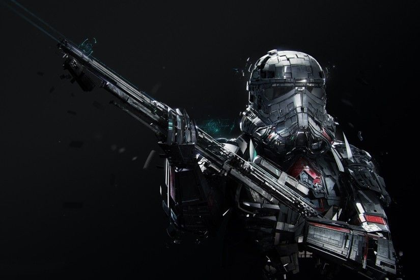 Imperial Death Trooper, Rogue One, Star Wars. Original Resolution: 2560x1600