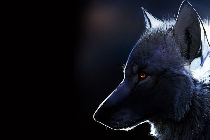 Anime Wolf Wallpaper Wallpapertag