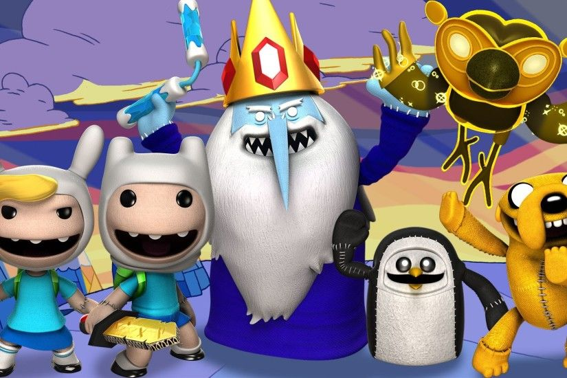 LittleBigPlanet 3 - Adventure Time - All Costumes and Level Kit Items -  LBP3 PS4 - YouTube