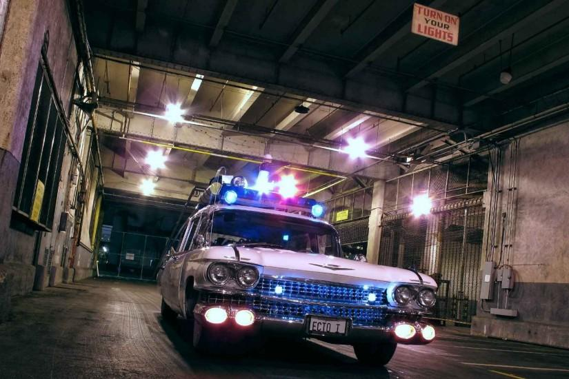 car, Ghostbusters Wallpaper HD