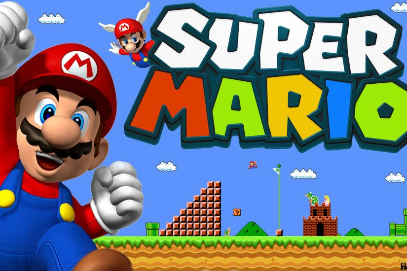 Super Mario Backgrounds ·① WallpaperTag