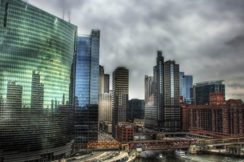 HDR City Background #1