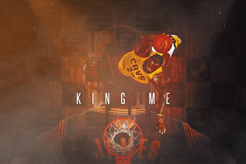 "Picture. Lebron James ""King Me"" NBA Finals Wallpaper 2016"