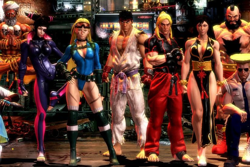 street fighter wallpaper 3840x1080 cell phone