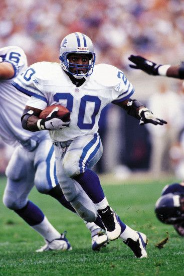 Barry Sanders ©Allan Kee/NFL Photos
