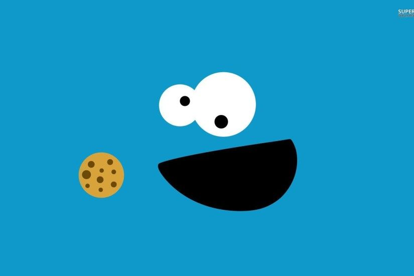 Cute Cookie Monster Wallpapers Wallpaper Cave