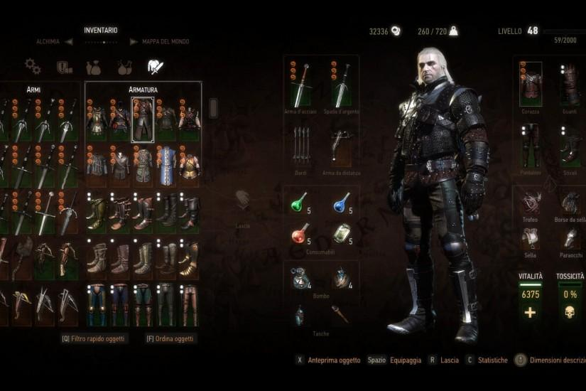 New background for inventory at The Witcher 3 Nexus - Mods and community