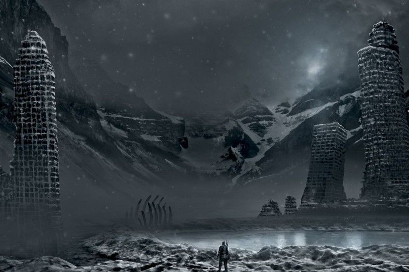 Nuclear winter · Sci Fi - Post Apocalyptic Wallpaper