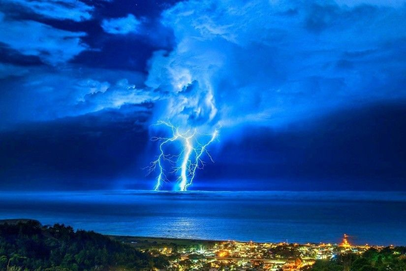 Nature Rain Storm Lightning Clouds Thunderstorm Sky Best Background Images  Detail