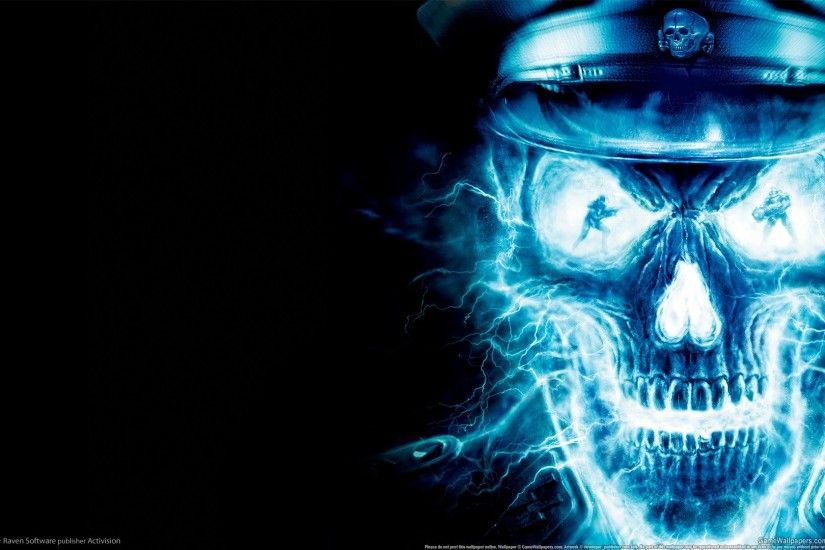 Blue Skull Wallpapers HD Cool Wallpaper