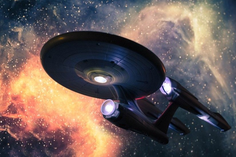 Sci-fi Artwork Spacescape Spaceships Star Trek USS Enterprise