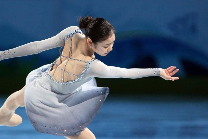 Yuna Kim Figure Skater Wallpaper