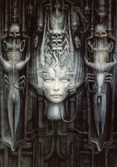 The Most Unforgettable Creations of H. R. Giger | HR Giger, Giger art and  Art google