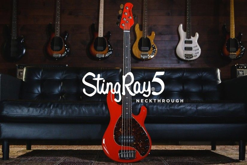 Ernie Ball Music Man StingRay 5 Neckthrough Bass: Joe Dart Demos - YouTube