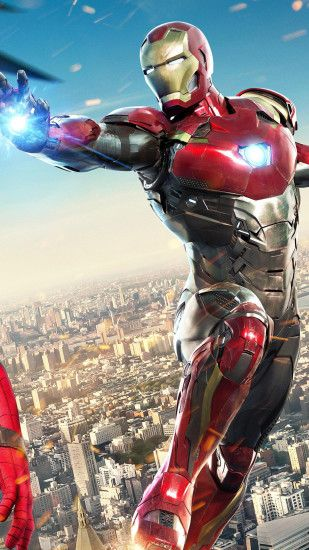 ... Homecoming Spider-Man Iron Man. Wallpaper 698073