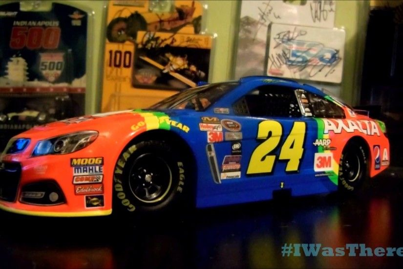 NASCAR Diecast Review on Jeff Gordon's 2015 Axalta Rainbow 1 24