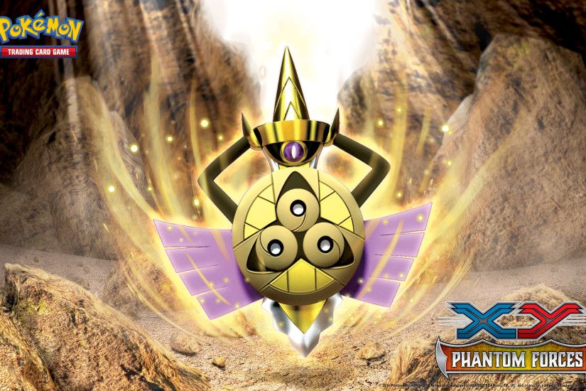 Pokémon TCG: <em>XY—Phantom Forces</em> Aegislash Wallpaper