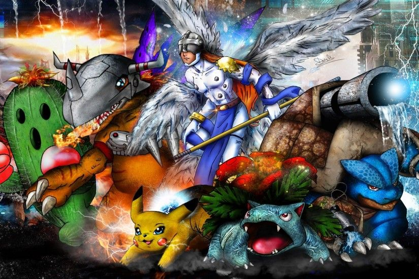 Digimon HD Wallpapers Backgrounds Wallpaper