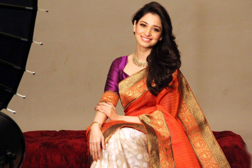 Tamanna bhatia hd wallpapers in saree