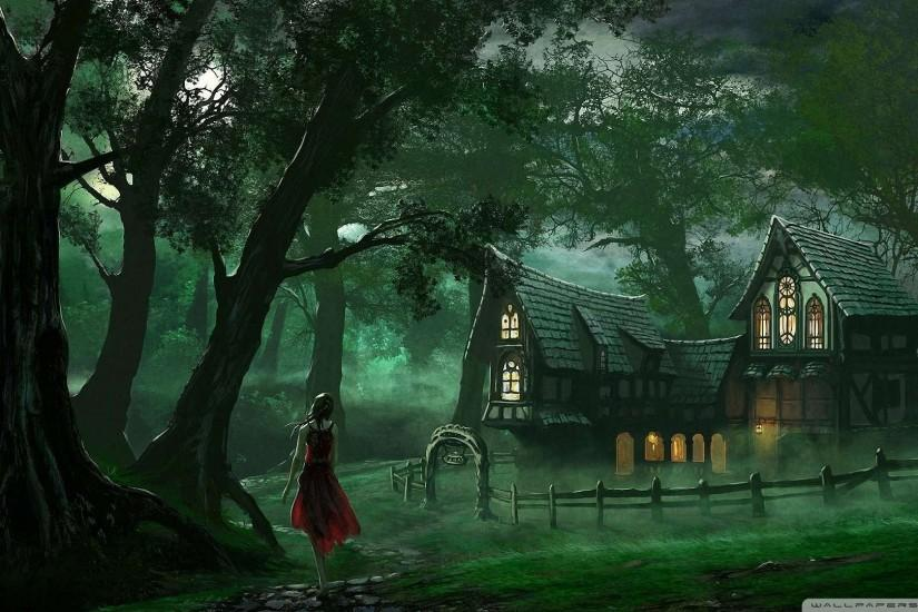 Wallpaper: The Forest House Wallpaper 1080p HD. Upload at December 31 .