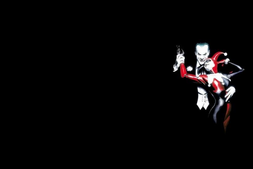 Harley Quinn And Joker Wallpaper Widescreen with HD Wide Wallpapers
